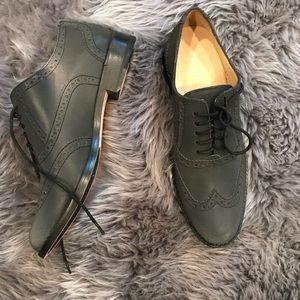 Never worn before Cole Haan wing tip shoes